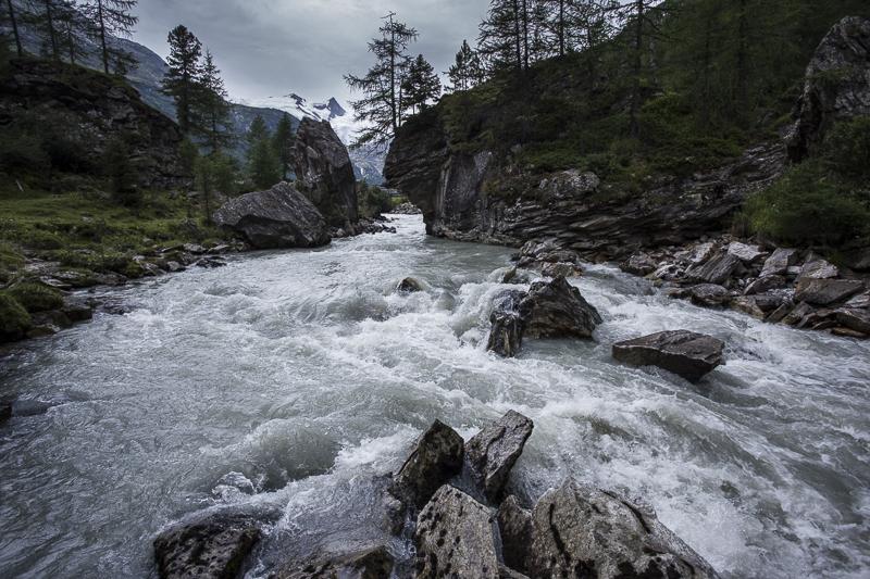 rivier in Hohe Tauern